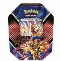 Pokémon Tin Box Zamazenta-V Deutsch Neu & OVP 45216 PKM POKEMON TIN 86