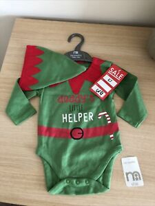 MOTHERCARE BABY CHRISTMAS OUTFIT BOY GIRL UNISEX 3-6 MONTHS