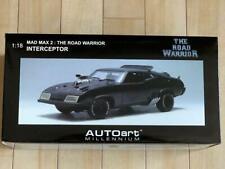Mad Max 2 Diecast Car 1/18 The Road Warrior Interceptor Model AUTOart Millennium