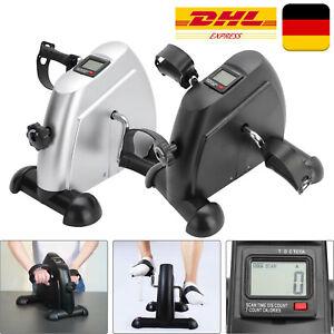 Heimtrainer Ausdauertraining LCD Mini Bike Arm und Beintrainer Fahrradtrainer
