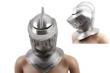 ADULT SIZE Medieval Knight's Helmet - Full Size Armor Helmet NIB