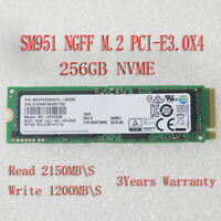 NEW SM951 256GB M.2 NGFF PCIe Gen3 8Gb/s x4 SSD (2280) NVME MZVPV256HDGL-000