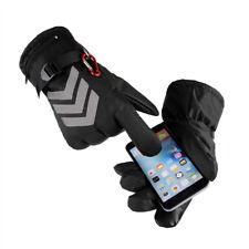 Waterproof Men Women Battery Powered Heated Gloves Touch Screen Bike Motor Glove