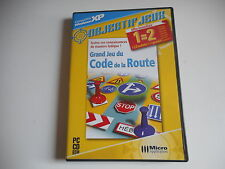 JEU PC CD ROM - GRAND JEU DU CODE DE LA ROUTE