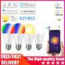 LED Wifi Smart Light Bulb 15W Dimmable RGBW Lamp E27 B22 For Alexa Google 2020&
