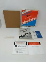 "Alge-Blaster Plus by Davidson 5.25"" Apple II / IIc / IIe 2 Software Game Math"