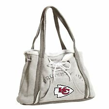 Kansas City Chiefs NFL Football Team Ladies Embroidered Hoodie Purse Handbag