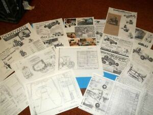 DOOLING - DENNY MERCURY- TETHER CARS - HISTORY - PLANS - Contest- PHOTOS
