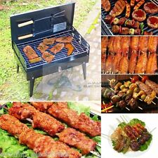New Portable Folding OUTDOOR BARBEQUE BBQ Grill Box Furnace Oven Stand