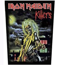 Iron Maiden Killers Woven Back Patch I003P Metallica Judas Priest Ghost BC