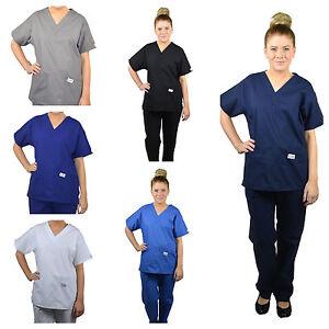 ScrubShine Medical Scrubs Set/ Uniform. Nurse- BN Choose Size & Colour