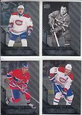 14/15 UD Black Diamond Montreal Canadiens 4 cards Pacioretty Plekanec Harvey +