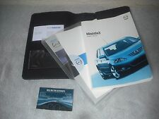 A GENUINE MAZDA 3 2003-2006 OWNERS INSTRUCTION MANUAL HANDBOOKS AND WALLET