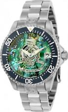 Invicta 23455 38mm Grand Diver Automatic Date Abalone Dial Bracelet Womens Watch