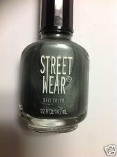 Revlon Street Wear Nail Polish ( GUN METAL #13 ) 0.5 oz NEW.