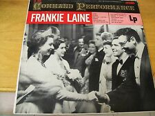FRANKIE LAINE COMMAND PERFORMANCE  LP COLUMBIA USA 1954