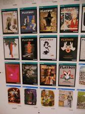 Playboy rare uncut card sheet from 1990