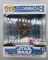 Funko Pop Chewbacca Battle at Echo Base #374 Flocked Amazon Exclusive P03