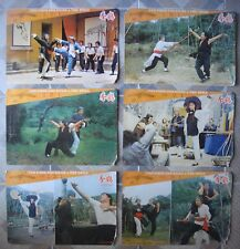 """FISTs THE KICKS & THE DEVILS (6) Chinese Lobby Card 11.5x17"""" Kung Fu Film 70s"""