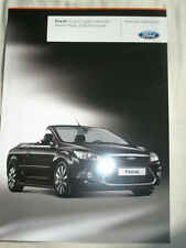 Ford Focus Coupe Cabriolet Black Magic brochure Feb 2008 German text
