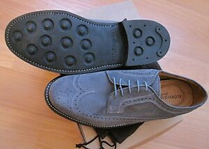 FLORSHEIM LIMITED HERITAGE WINGTIP OXFORDS MEN'S  SHOES US 8 3E EEE