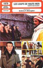 FICHE CINEMA FILM GB LES LOUPS DE HAUTE MER /NORTH SEA HIJACK Andrew V.McLaglen