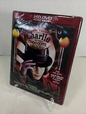 Charlie and the Chocolate Factory Hd Dvd 2006 Tim Burton's Movie W/Johnny Depp