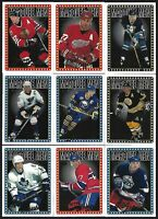 Topps 1995-96 HOCKEY MARQUEE MEN, 9 Card Lot