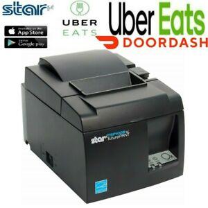 Uber Eats  TSP143IIIBI Bluetooth Receipt Printer Star Micronics DoorDash printer