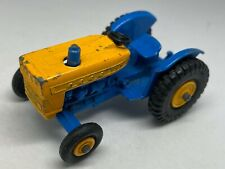 Matchbox Lesney No 49 Blue & Yellow Ford Tractor