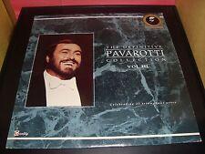 "Pavarotti Collection Volume 3 12"" Vinyl Record Album Quality QUSP 5001 VG+ 1988"
