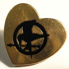 Hunger Games Lapel Pin - Mockingjay Bird Trilogy Movie Book Lions Gate Heart Pin