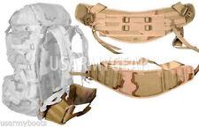 New Made in USA Military Army MOLLE II DCU Desert Camo Back Pack Waist Belt USGI