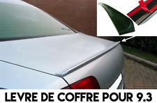 LAME COFFRE MALLE SPOILER BECQUET LEVRE AILERON pour SAAB 9-3 93 Cabriolet 98-03