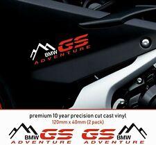 BMW ADVENTURE GS R1200 10 Year Cast Vinyl Decals Stickers x 2-Premium Quality