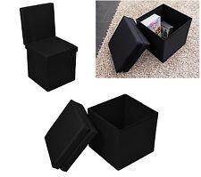 Echtwerk Sitzwürfel Stuhl Hocker Cube faltbar Aufbewahrungsbox Kasten Ottomane