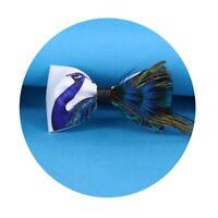 Fashion Peacock Feather Handmade Bow Tie Wedding Tuxedo Necktie Party Cravat DL5
