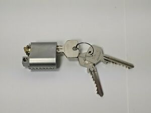TrioVing ASSA Abloy Lock Cylinder with 3 Keys 0422-2022 , NEW