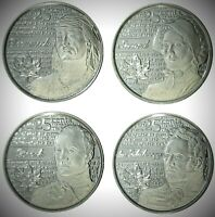 Canada 2012 / 2013 War of 1812 4 Coin Frosted Commemorative Quarter Set!!