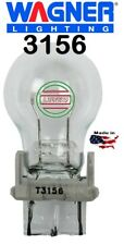 (10) WAGNER 3156  Lamp Auto Backup Clear Light Bulb Truck 12v USA Made