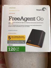 Seagate FreeAgent Go 120 GB USB External Hard Drive ST901203FGB1E1-RK