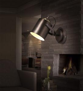 Retro Vintage Loft Rustic Wall Sconce Light Fixture Home Loft Bar Decor Lighting