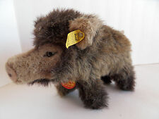 Steiff Boar stuffed animal wild pig all Ids made in Germany 1787