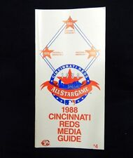 1988 Cincinnati Reds All-Star Game Media Guide
