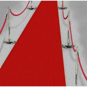 RED CARPET 15ft HOLLYWOOD VIP  Party Floor Runner Prom Birthday Prop Decoration