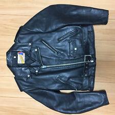 Perfecto schott 618 40 steerhide leather double motorcycle jacket racer 118 613