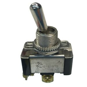 Gardner Bender GSW-110 Toggle Switch, SPST, ON-OFF, 20 A/125V AC W/ RUBBER COVER