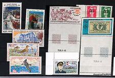 SAINT PIERRE et MIQUELON  lot de timbres NEUF ** vendu sous la faciale L0310