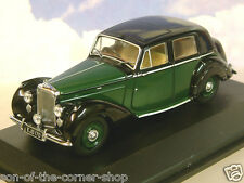 OXFORD DIECAST 1/43 1946-52 BENTLEY MKVI MK6 SALOON BREWSTER GREEN/BLACK BN6003