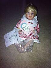 Carol Anne Original Limited Edition Porcelain Valentine's Day Goebel Doll-Nwob